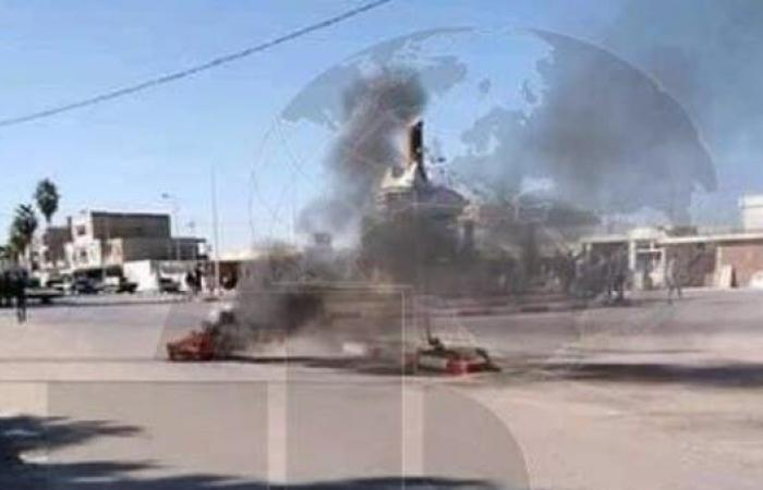 مواجهات بين الشرطة ومحتجين في بلدة بجنوب تونس لثالث ليلة