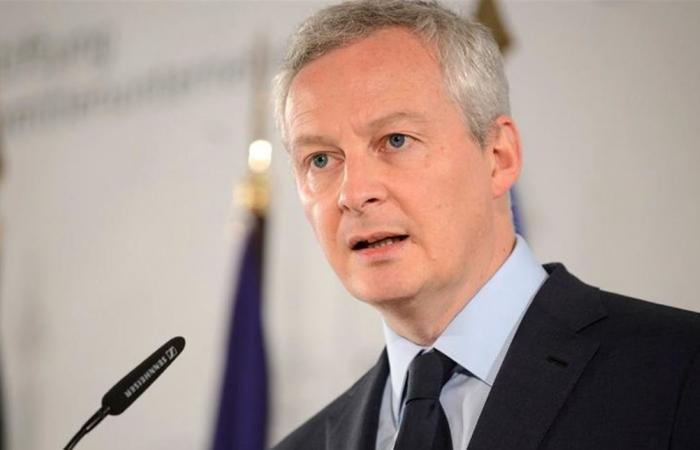 وزير الاقتصاد الفرنسي يتعهّد برد 'قوي' بعد تلويح واشنطن برسوم جمركية