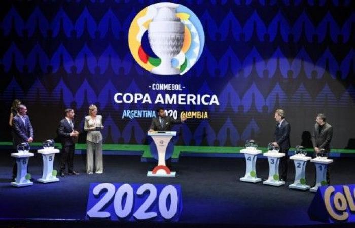 نتائج قرعة بطولة كوبا أميركا 2020