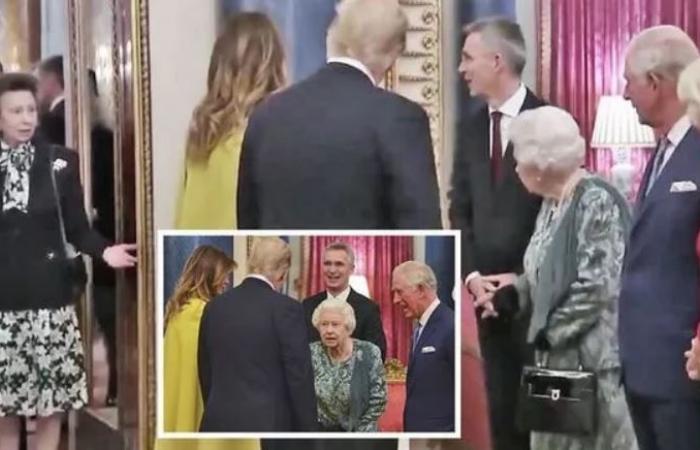 خلاف الملكة إليزابيث وابنتها الأميرة آن يظهر على الشاشات.. ما السبب؟