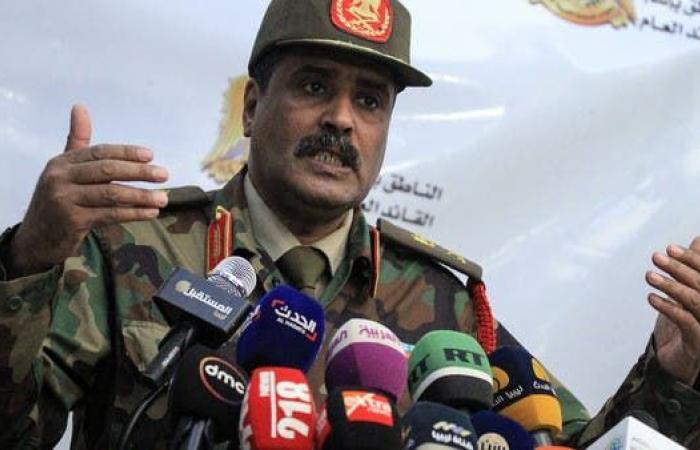 الجيش الليبي: اتفاق السراج وأنقرة سيحوّل ليبيا لقاعدة تركية
