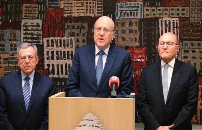 رؤساء الحكومات السابقون: الاعتداء على موقع رئاسة الحكومة جريمة خطرة