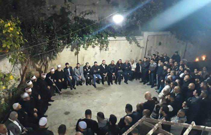 تيمور جنبلاط زار عائلة علاء أبو فخر في الشويفات