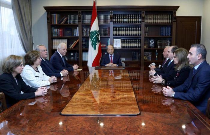 عون لمجلس القضاء الاعلى: دوركم أساسي في عملية مكافحة الفساد