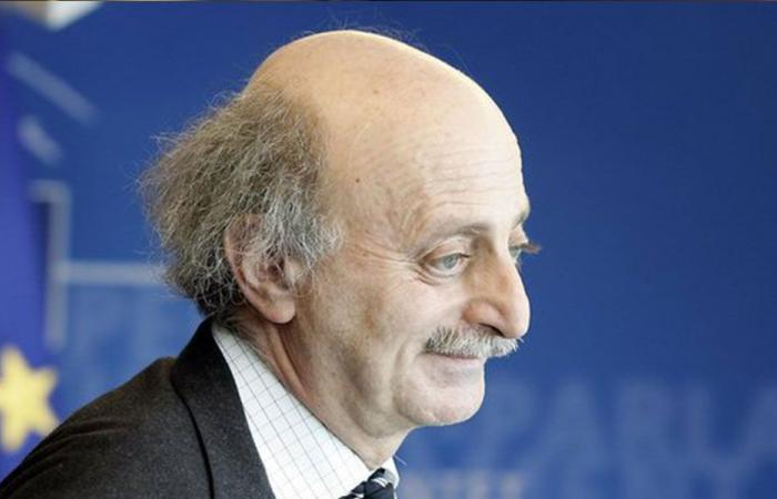 جنبلاط يتذكّر والده بصورة: سيبقى فينا وينتصر