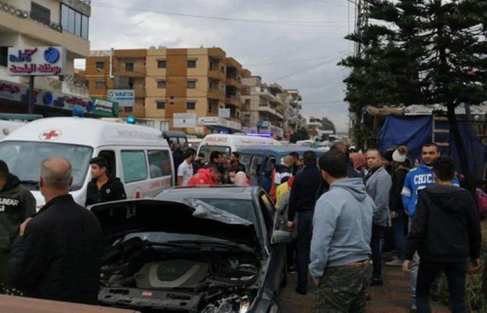 6 جرحى بحادث سير على طريق الضنية