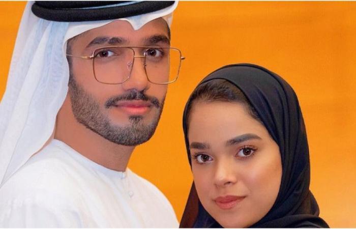أحمد خميس يقص شعر مشاعل الشحي.. شاهدي رد فعلها!