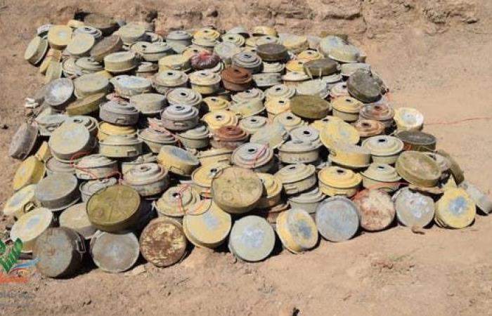 اليمن | اليمن.. مسام يتلف 1600 لغم حوثي في بيحان