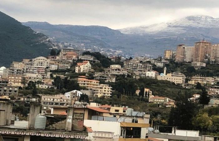 الثلوج غطت جبل الأربعين في الضنية