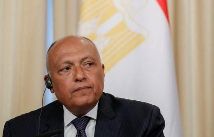 مصر | سامح شكري: الاتفاق الموقع بين السراج وأردوغان يعقد الوضع في ليبيا