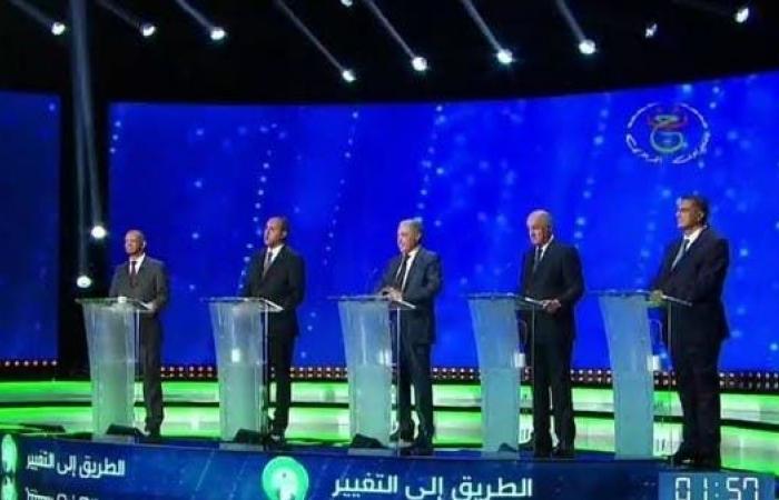 المناظرة الانتخابية في الجزائر.. أجوبة عامة وتقرب من الحراك