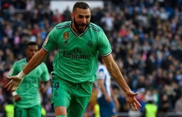 """ريال مدريد يهزم إسبانيول وينتزع صدارة الدوري الإسباني """"مؤقتا"""""""