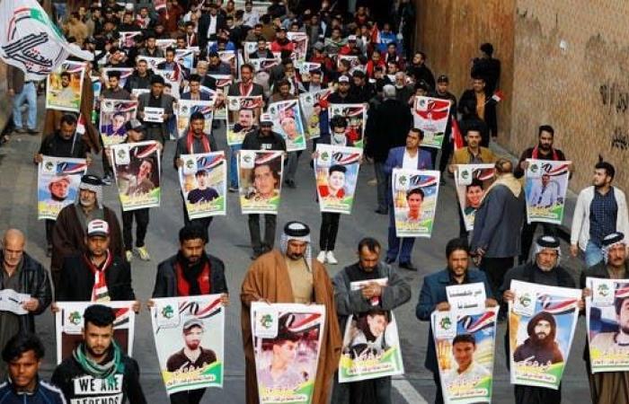 العراق   جنوب العراق ينعى قتلى بغداد.. حداد في الديوانية وذي قار