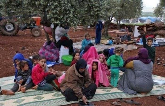 سوريا   38 ألف سوري نزحوا من إدلب خلال أسبوع في ظل تصعيد عسكري