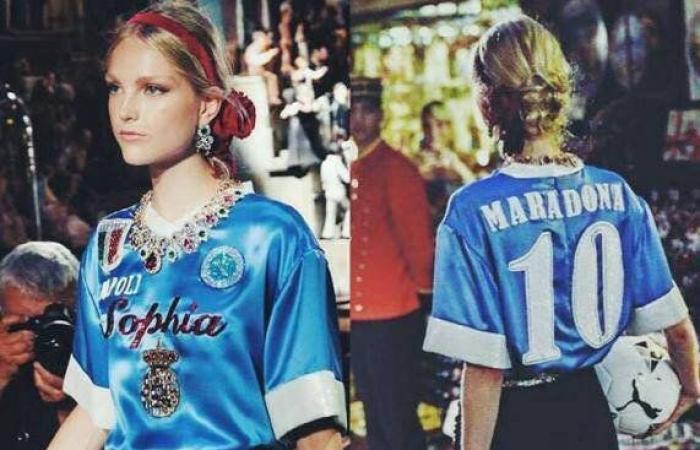 دولتشي أند غابانا ستعوّض مارادونا بـ78 ألف دولار.. والسبب قميصه!