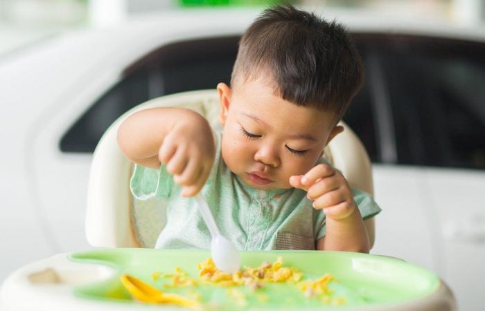 وجبات لطفلك بعمر 6 – 12 شهرًا