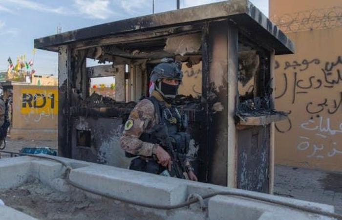 العراق   بدء وصول التعزيزات العسكرية الأميركية إلى السفارة ببغداد
