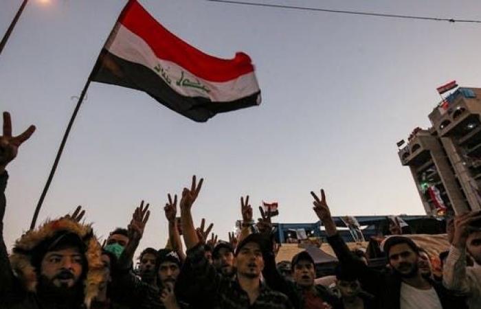 العراق   بغداد.. تظاهرات تندد بقرار إنهاء وجود القوات الأجنبية