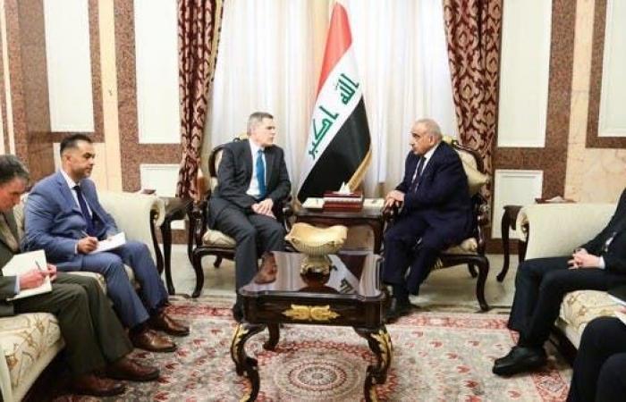العراق | عبدالمهدي: ضرورة العمل مع واشنطن لتنفيذ الانسحاب