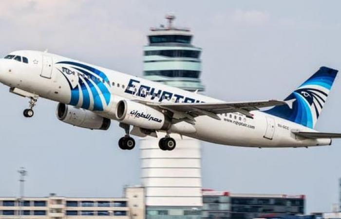 مصر   مصر للطيران تعلق رحلاتها مؤقتاً إلى بغداد