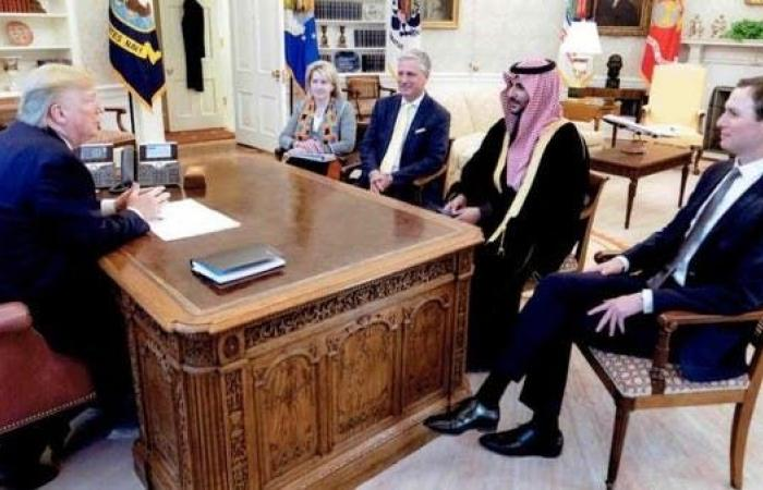 الخليج   خالد بن سلمان: ناقشت مع ترمب جهود مواجهة التحديات الإقليمية
