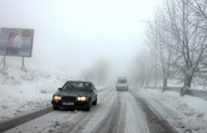 الثلوج تعزل قرى العرقوب عن قضاء حاصبيا