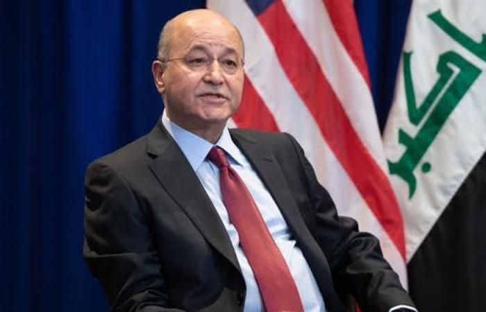 العراق   صالح يستنكر القصف الإيراني ويرفض الزج بالعراق في حرب جديدة