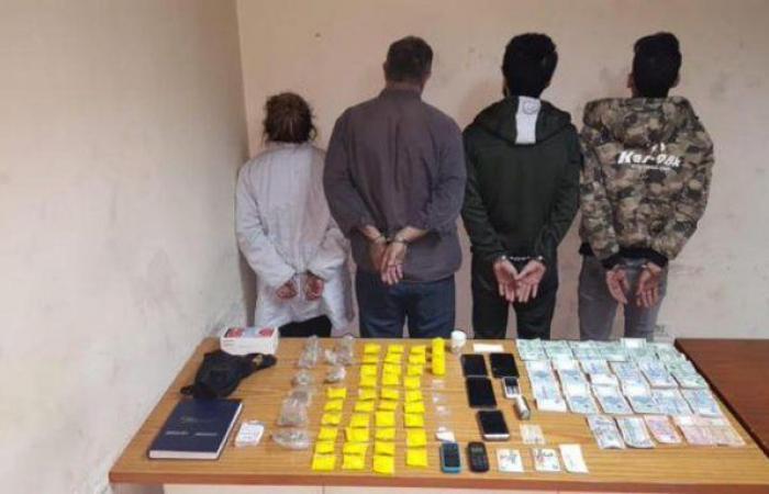 بالجرم المشهود.. توقيف مروجي مخدرات في برج حمود