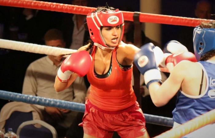 هذه الفتاة الملاكمة هي ابنة ممثل مصري شهير (فيديو)