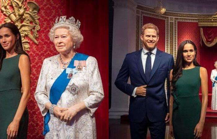 إزالة تمثالي ميغان ماركل وهاري كين بعد تخليهما عن العائلة المالكة!