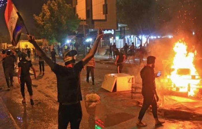 العراق | كربلاء.. سقوط جرحى في اشتباكات بين قوات الأمن والمحتجين
