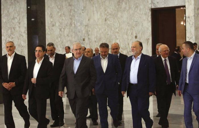 """""""الحزب"""" على موقفه: حكومة إنقاذية من الاختصاصيين"""