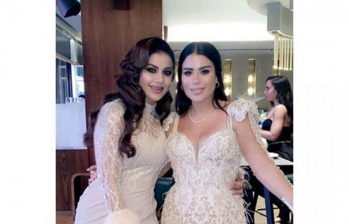 محمود العسيلي يحتفل بزواجه.. وفستان العروس يعرضها للانتقادات!
