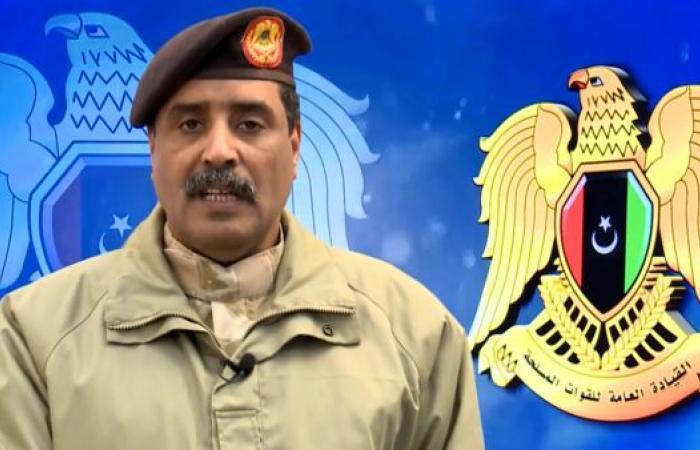 الجيش الليبي يعلن وقفا لإطلاق النار بالمنطقة الغربية