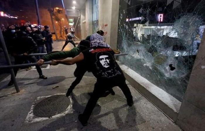 اعمال شغب في شوارع الحمرا… وبيان لحركة أمل