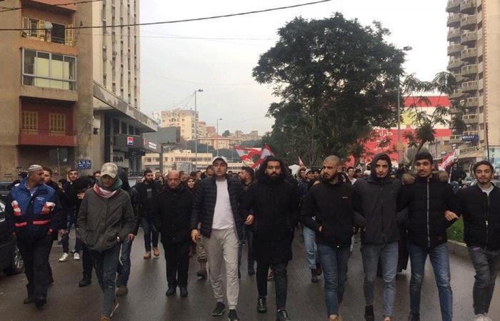 مسيرة طلابية جابت شوارع طرابلس