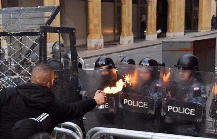 قوى الامن: 142 إصابة من عناصرنا جراء أعمال الشغب