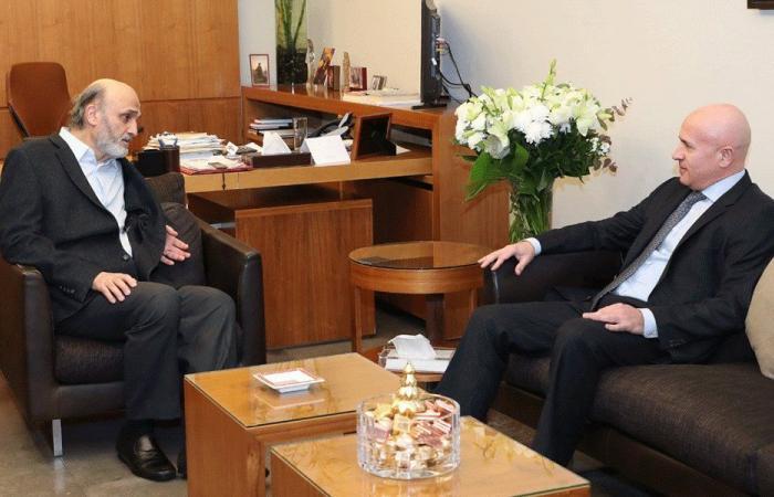 التطورات السياسية بين جعجع وسفير الأرجنتين