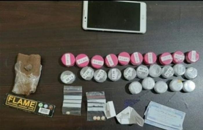 اعتقال شاب سوري لحيازته مخدرات في ضهر البيدر