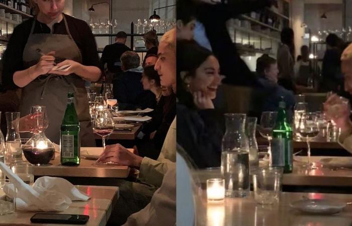فانيسا هادجنز في عشاء رومانسي بعد أيام من انفصالها عن حبيبه!