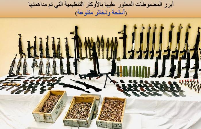 مصر | ضبط خلايا لتنفيذ عمليات إرهابية في مصر