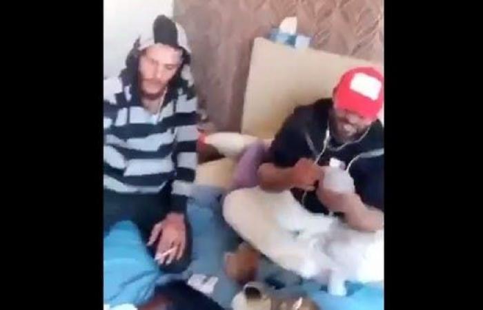 فيديو.. مقاتلون سوريون يحتفلون بأولى مرتباتهم في طرابلس