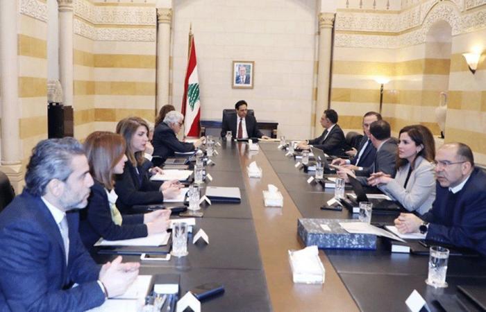 دياب ترأس الاجتماع الخامس للجنة صوغ البيان الوزاري