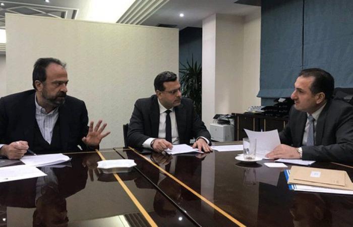 حواط التقى مسؤولَين في وزارة الاتصالات