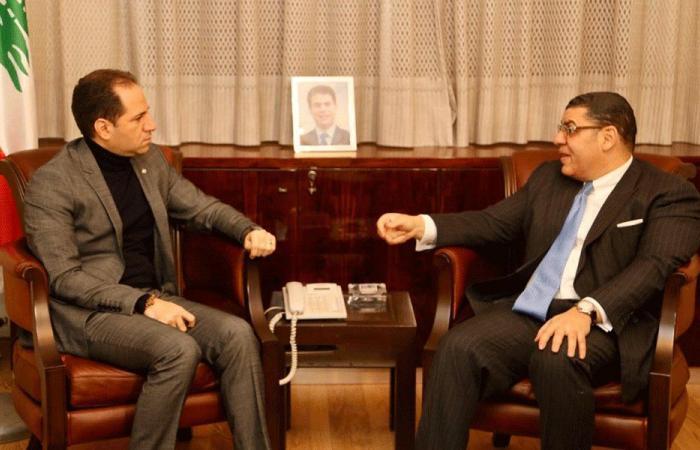 """الجميّل التقى سفير مصر: لإبعاد لبنان عن تداعيات """"صفقة القرن"""""""
