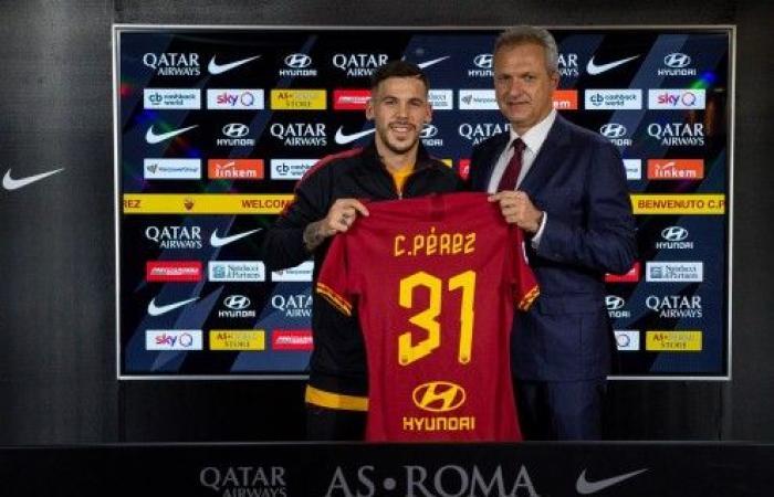 رسمياً-بيريز ينتقل من برشلونة إلى روما