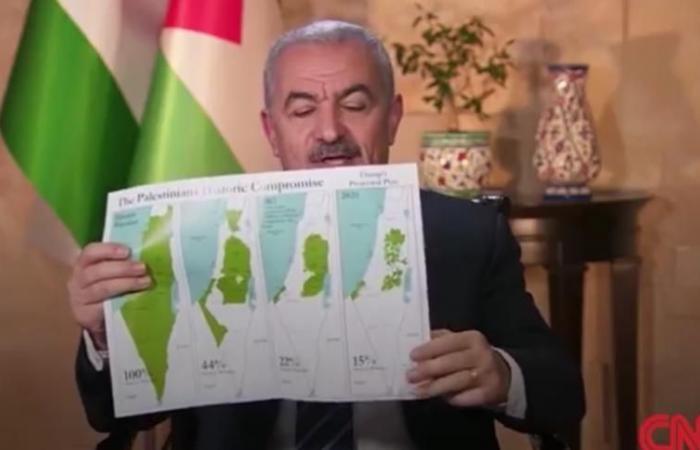 فلسطين | فيديو|.. اشتية في مقابلة مع CNN: خطة ترامب تقترح نظام فصل عنصري لا أكثر