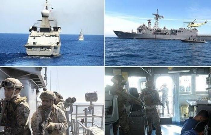 مصر | ختام المناورات البحرية المصرية السعودية في البحر الأحمر