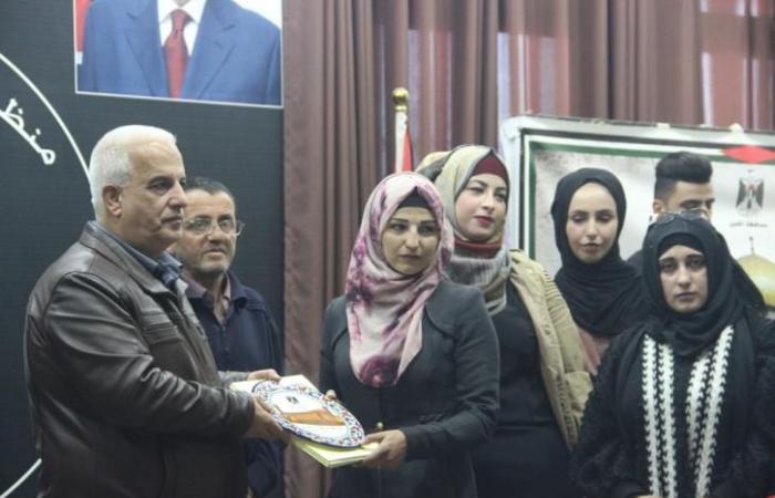 فلسطين   حفل تكريم للمتطوعين في الخليل
