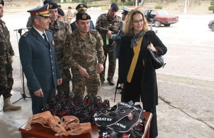 هبة عتاد من فرنسا إلى الجيش